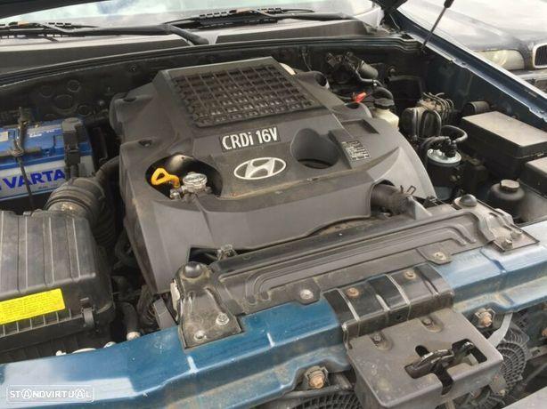 Motor Hyundai Terracan HP 2.9Crdi 150cv KJ J3 Caixa de Velocidades Automatica + Motor de Arranque  + Alternador + compressor Arcondicionado + Bomba Direção