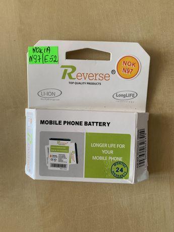 NOWA Bateria REVERSE do Nokia N97/E52/E63 Litowo-Jonowa 1650 mAh
