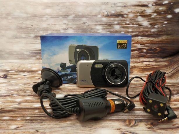 Автомобильный Видео регистратор+Камера заднего вида 2 Камеры 170°Full