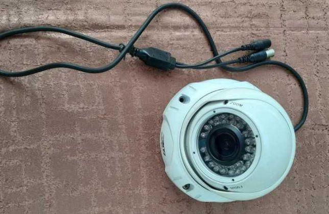 Kamera przemysłowa CCTV kopułowa nowa K2 PRO-860KIR PAL 2.8-12mm