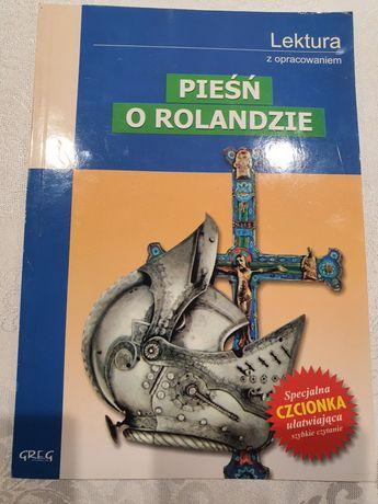 Pieśń o Rolandzie lektura z opracowaniem za grosze