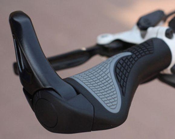 Грипсы с рожками анатомические,эргономичные Ergo, велоручки велосипед