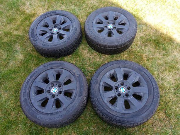 4 opony SEMPERIT 225/55R16 95H Speed-Grip2 Alufelgi BMW 5x120 czarne