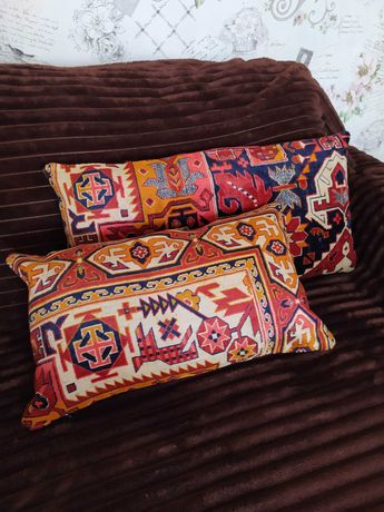 Подушки наволочки шелковые ковровые турецкие восточные дивандек ГДР