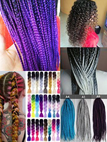 Плетение кос,косичек, канекалоны.