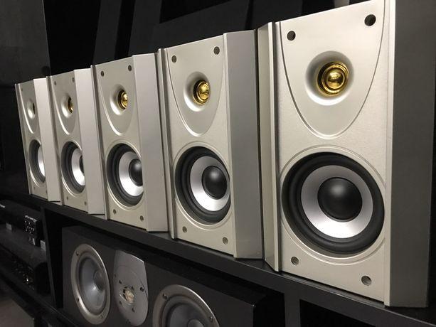 Zestaw kina domowego kolumny glosnikowe koda am950 monitory
