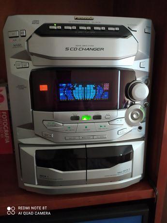 Aparelhagem hi-fi Panasonic