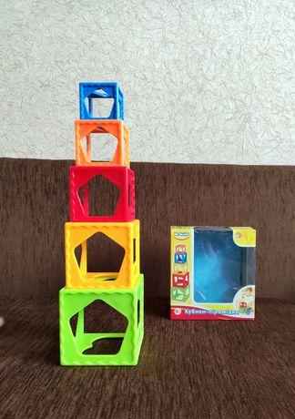 Кубики-пирамидка Bebelino