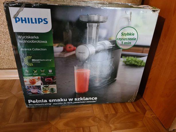 Wyciskarka do owocow/warzyw philips hr1896