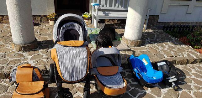 ANEX SPORT 4W1 SP14 FOXY - wózek dziecięcy