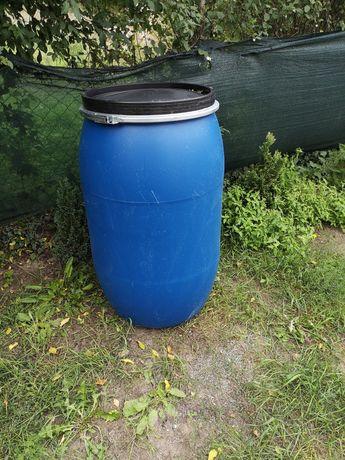 Beczka beczki plastikowe 200 litrów na deszczówkę zboże