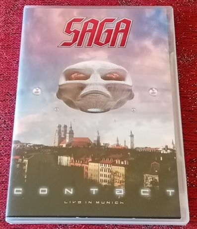 SAGA – Contact, Live in Munich [DVD duplo, coleccionável)