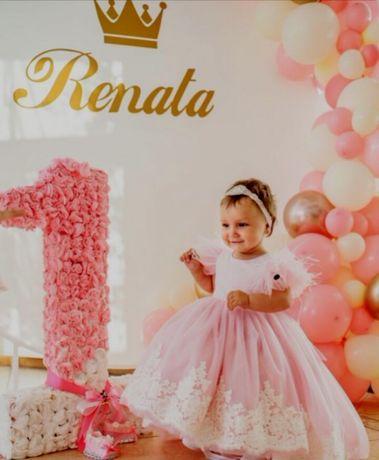 Продам очень  красивое нарядное  детское платье