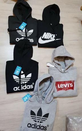 Bluzy damskie z logo Adidas Nike Levi's kolory S-XL!!!