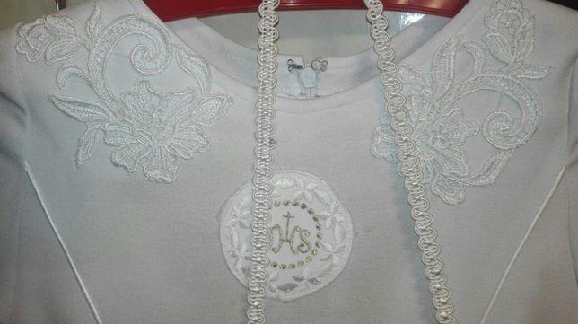 Sukienka komunijna z Parafii Kolbego w Dąbrowie Górniczej