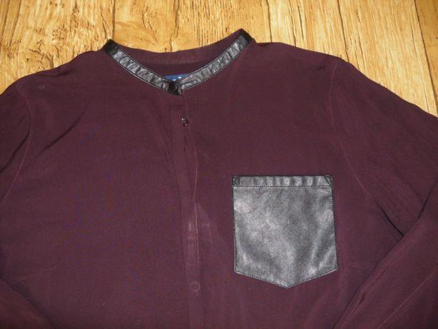 Bluzka koszulowa bordowa R.42 TOM TAILOR.