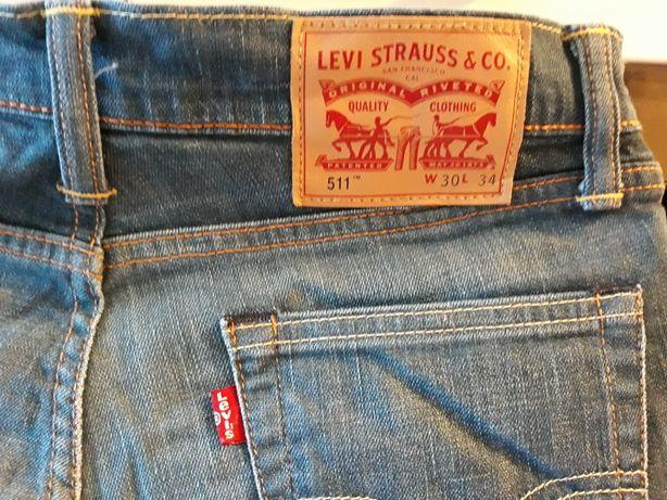 Damskie spodnie Levi's 511, rozm. W30, L34