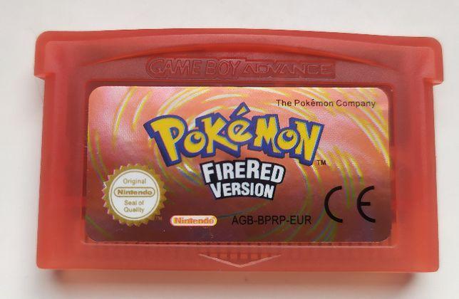 Pokemon FIRE RED gra GAME BOY Advance/Nintendo DS NIEORG