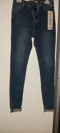 Spodnie jeans r 36 nowe z metką
