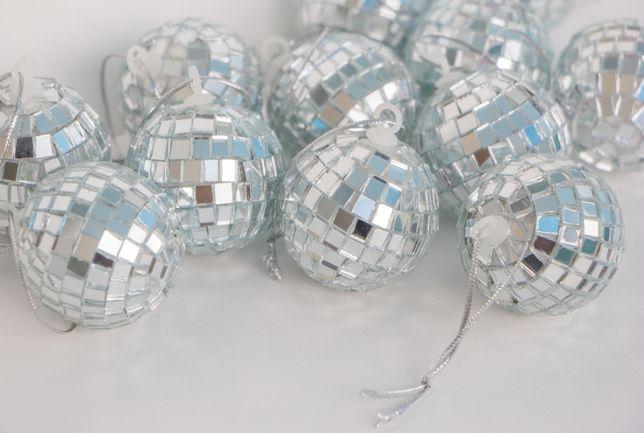 Зеркальные шары (12 шт)