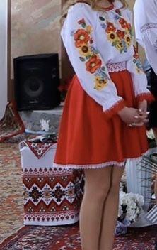 Плаття вишите, вишиванка