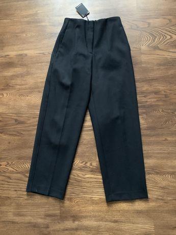 Новые шерстяные брюки черного цвета Массимо дутти 34 р