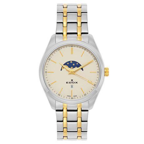 Zegarek Edox Les Vauberts fazy księżyca Phasemoon