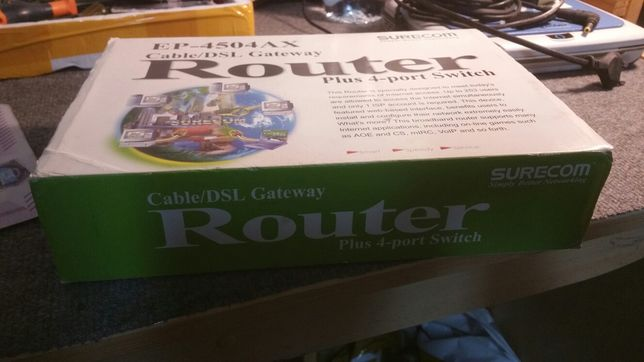 Router Surecom EP-4504AX (100/200)