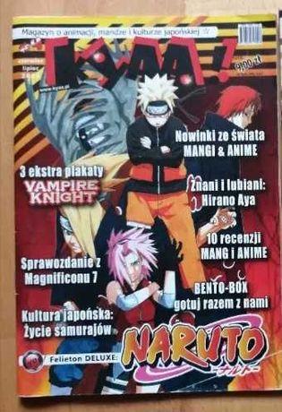 Magazyn manga, anime KYAA! NARUTO