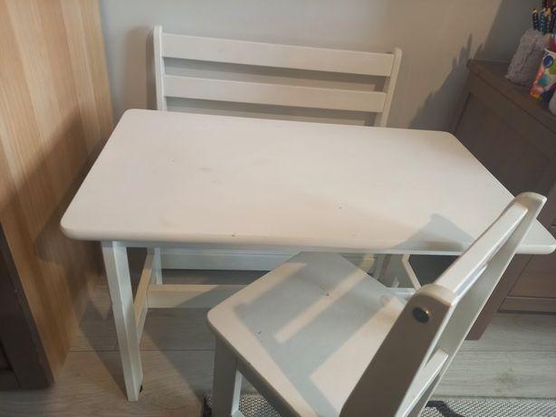 Stolik,ławeczka,krzesełko Pinio