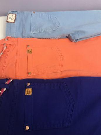 3 calças coloridas 8 anos 128 cm sergent major