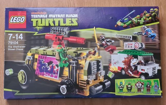 LEGO 79104 Wojownicze Żółwie Ninja- Pościg uliczny - UNIKAT !