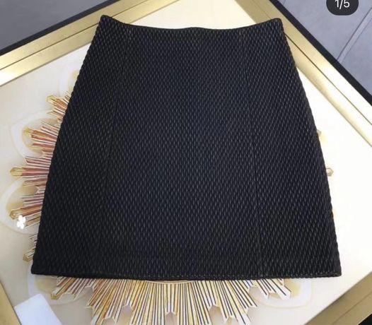 Bottega Veneta spodniczka ze skory M/L