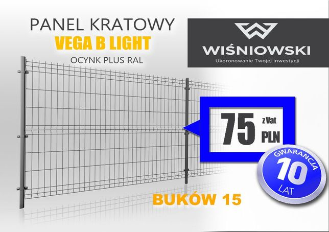 Panel ogrodzeniowy Wiśniowski + ogrodzenia panelowe wiśniowski 10 lat
