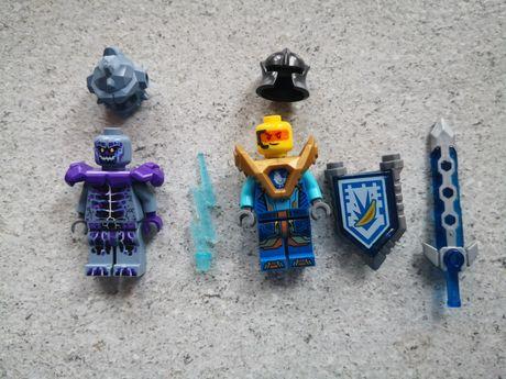 Figurki lego Nexo Knights, kamienny wojownik i Robin