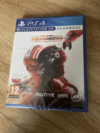 Star Wars Squadrons, gra nowa w folii, PlayStation 4, ps4 ps5, też VR