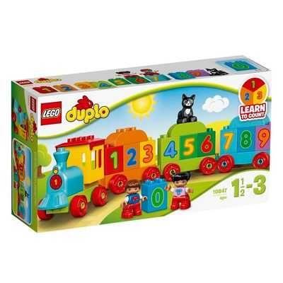 LEGO® DUPLO® Поезд Считай и играй 10847 в наличии новый запечатанный