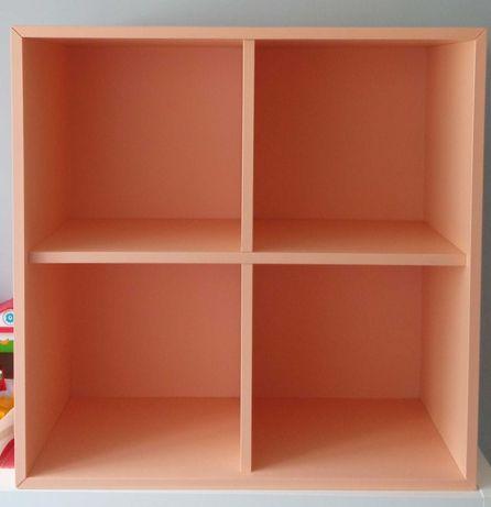 Szafka/półka/regał Eket Ikea z 4 przegrodami, brzoskwinowa 70x35x70 cm