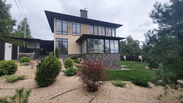Продажа дома с великолепным панорамным видом  на лес и закат от хозяин