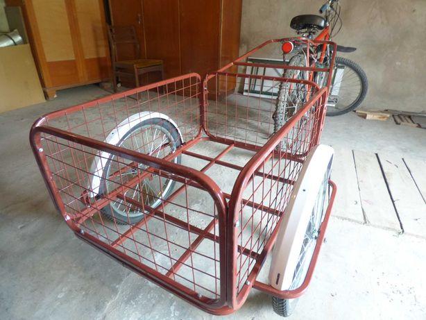Велоприцеп для велосипеда и скутера.