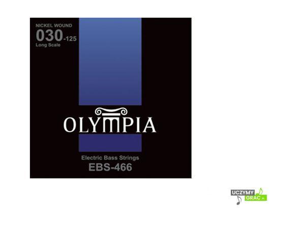 Struny do gitary basowej OLYMPIA EBS-466 + GRATIS: 3 piórka !!!