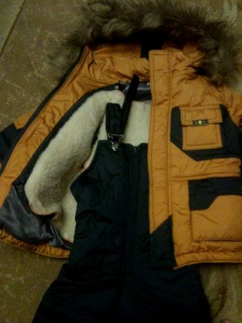 Костюм зимний (куртка+п/комбинезон)
