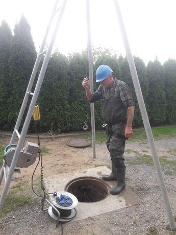 Studnia głębinowa w studni