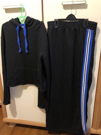 Zara худи и юбка с разрезом