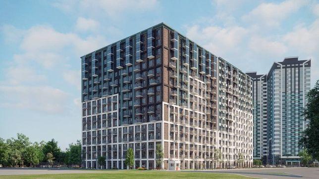 """Продам 3 комн. квартира в ЖК """" Скай Сити+""""  Балкон.  Рассрочка."""
