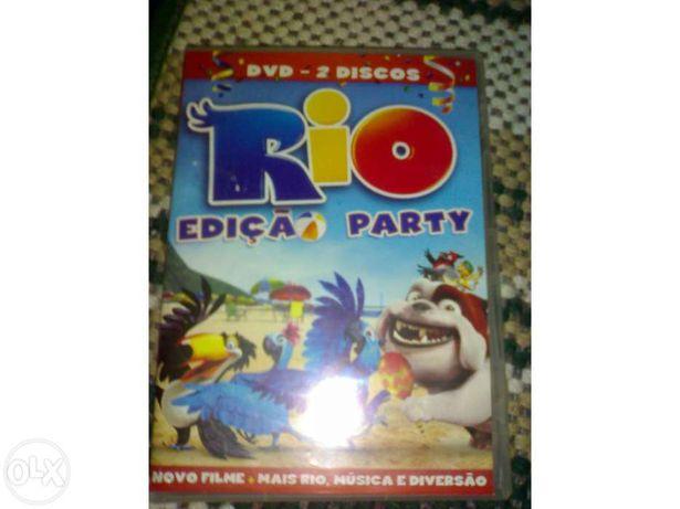 Filme dvd rio edição 2discos