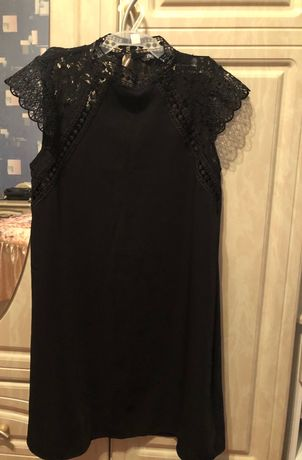 Платье Zara чёрное