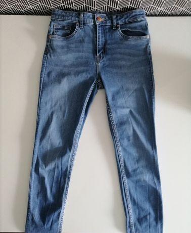 Jeansy H&M S 28 38 spodnie damskie