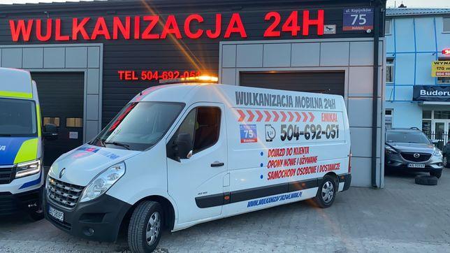 Mobilny Serwis Wulkanizacyjny _Master 2013r- kompletnie wyposażony