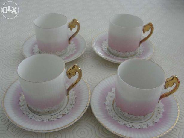 Chávenas de café de colecção